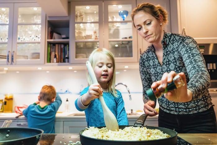 Matlaging med barna
