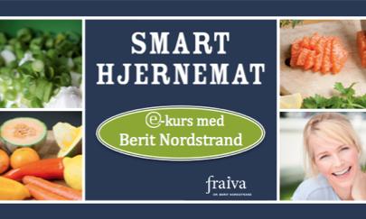 e-kurs Smart Hjernemat: Gi dine hjerneceller den maten de ønsker og nyt smaken av et bedre liv